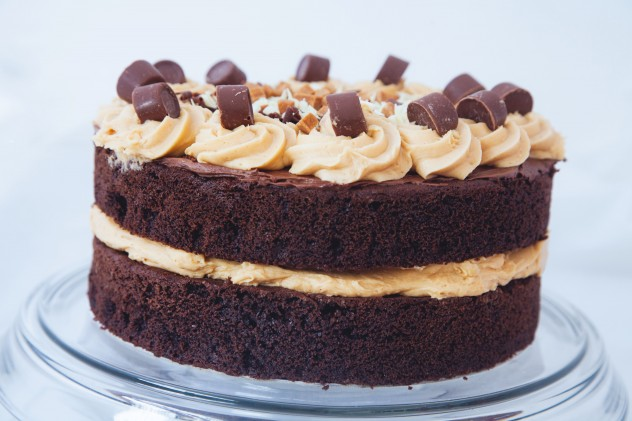 Chocolate Rolo Sponge Cake